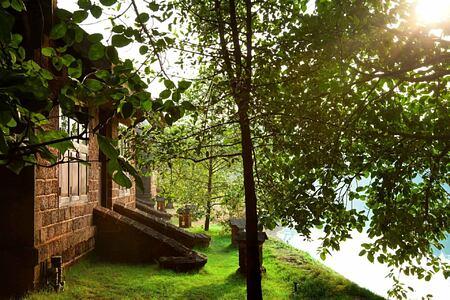 Villa entrance at Swa Swara India
