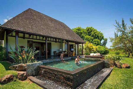 Villa with own pool at Anahita Mauritius
