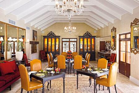 Vineyard Suites Terrace Room at la Residence South Africa