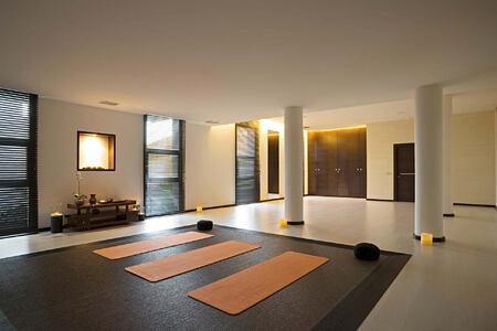 Yoga and meditation room at SHA Wellness Spain
