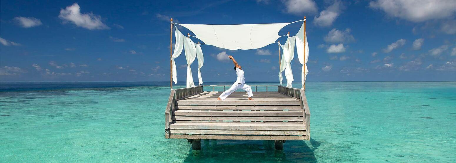 Yoga at Baros Maldives