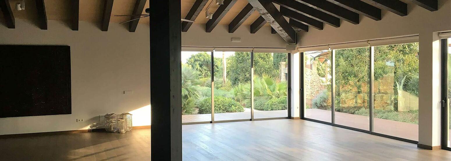 Yoga studio at Cal Reit Spain