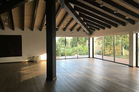 Yoga studio at Cal Reit Spain
