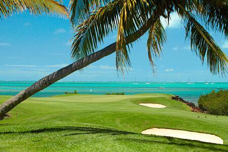 beach and golf at Anahita Mauritius