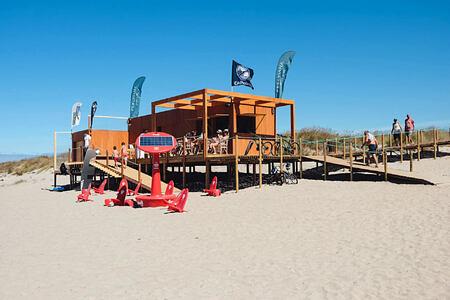 Beach bar at Feelviana Portugal