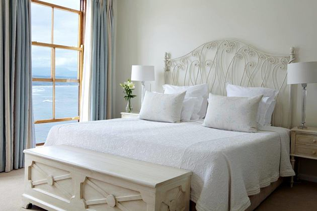 luxury double room with sea view at the plettenberg South Africa