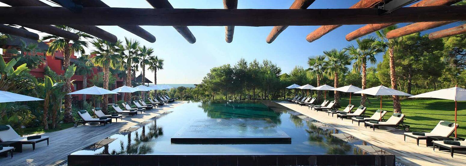 zhen pool at Asia Gardens Hotel Spain