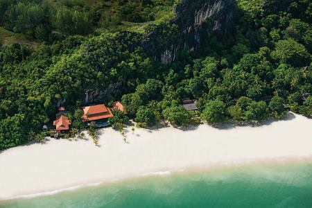 Aerial view of Four Seasons Langkawi Malaysia
