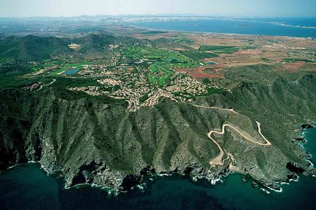 Aerial view of Resort at la Manga Club Spain