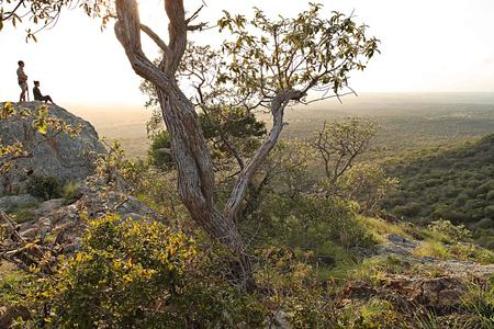 Amazing views at Phinda Rock at Phinda South Africa