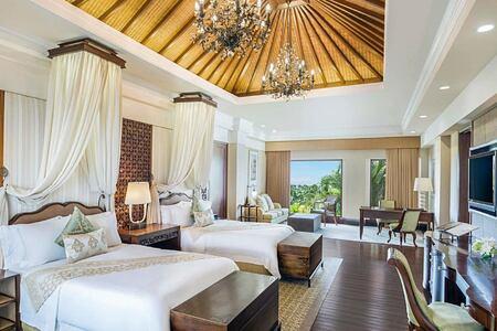 Astor Suite long view at St Regis Bali Indonesia