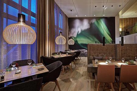 Aurora Restaurant at Icelandair Hotel Iceland