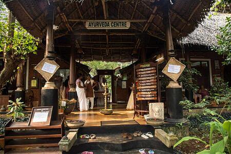 Ayurveda Centre at Somatheeram Kerala India