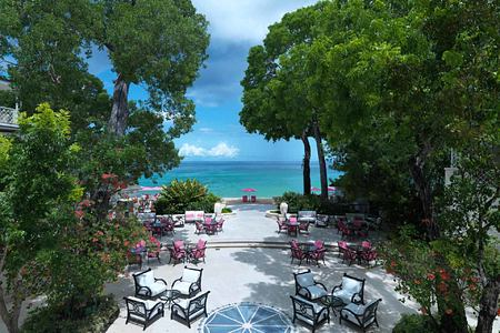 Balcony View at Sandy Lane Barbados
