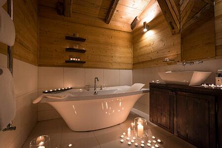 Bathroom at Ferme de Moudon France