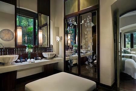 Bathroom at Four Seasons Chiang Mai Thailand