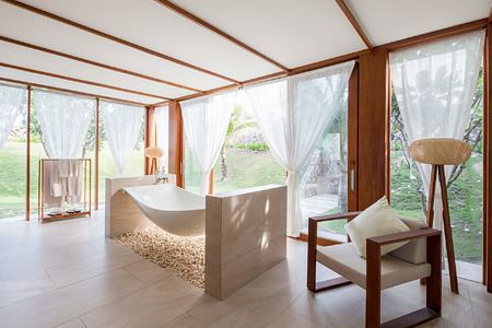 Bathtub at Fusion Resort Cam Ranh Vietnam