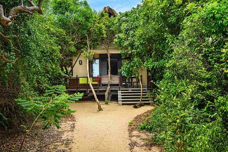 Beach Cabin exterior at Jungle Beach Sri Lanka