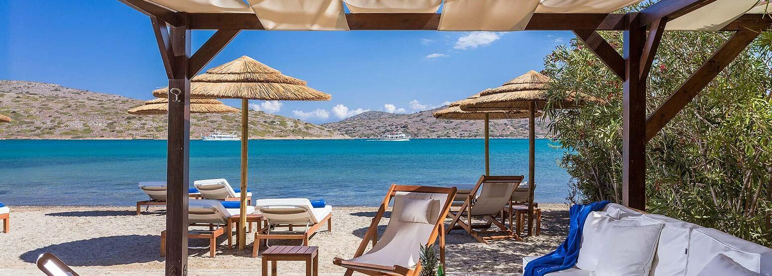 Beach Front Villa at Elounda Gulf Villas and Suites Crete