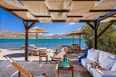 Beach Front Villa at Elounda Gulf Villas and Suites Crete