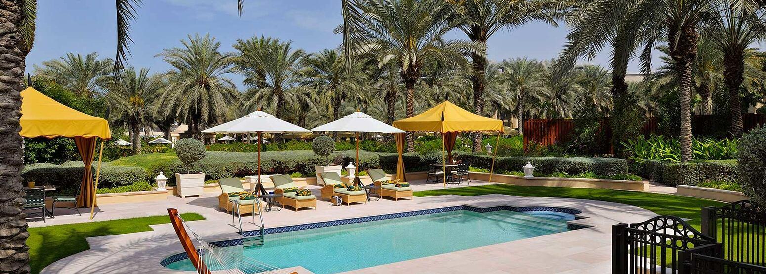 Beach Garden Villa at The Royal Mirage Dubai