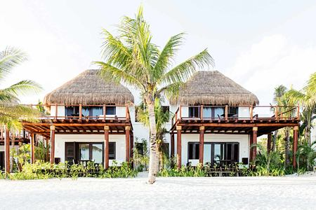 Beach Suite Exterior at Esencia Mayan Riviera Mexico