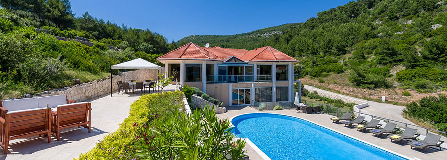 Beach Villa Korcula Croatia