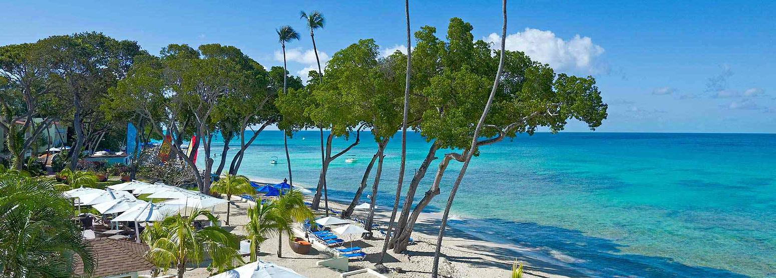 Beach and Deck at Tamarind Barbados