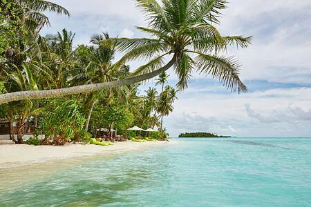 Beach at Como Maalifushi Maldives