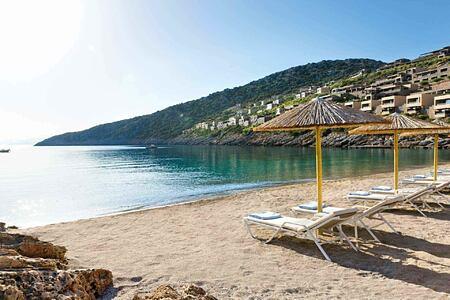 Beach at Daios Cove Crete Greece