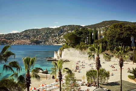 Beach at Grand Hotel du Cap Ferrat France