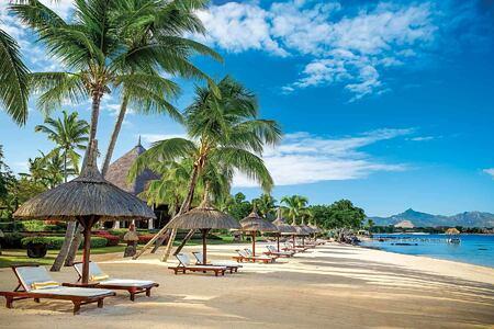 Beach at Oberoi Mauritius