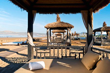 Beach at Sofitel Thalassa Agadir Morocco