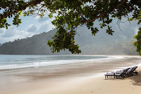 Beach at The Datai Langkawi Malaysia