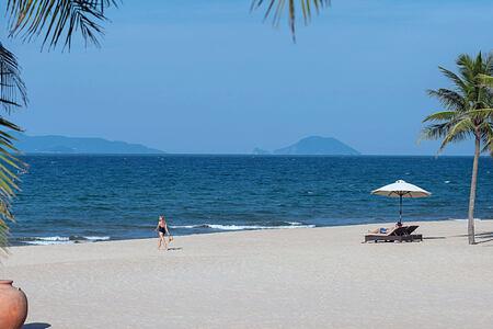 Beach at The Nam Hai Vietnam