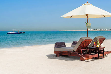 Beach at Waldorf Astoria UAE