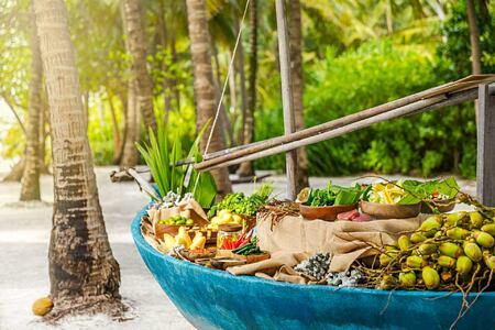 Beach bbq at Como Maalifushi Maldives