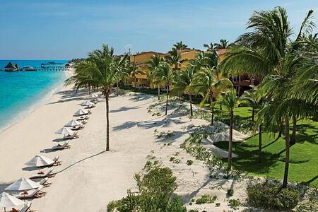 Beautiful beach at Zoetry Paraiso de la Bonita Mexico
