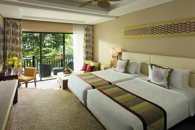 Bedroom 1 at Shangri la Rasa Ria Borneo Malaysia