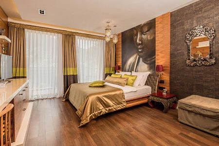 Bedroom 2 at Forza Mare Montenegro