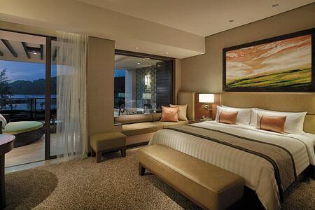 Bedroom 2 at Shangri la Rasa Ria Borneo Malaysia