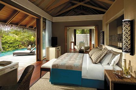 Bedroom 2 at Shangri la Villingili Maldives