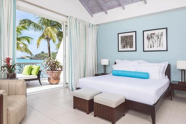 Bedroom at Carlisle Bay Antigua