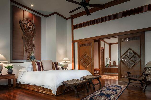Bedroom at Four Seasons Chiang Mai Thailand