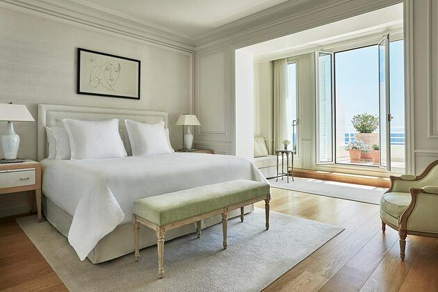 Bedroom at Grand Hotel du Cap Ferrat France