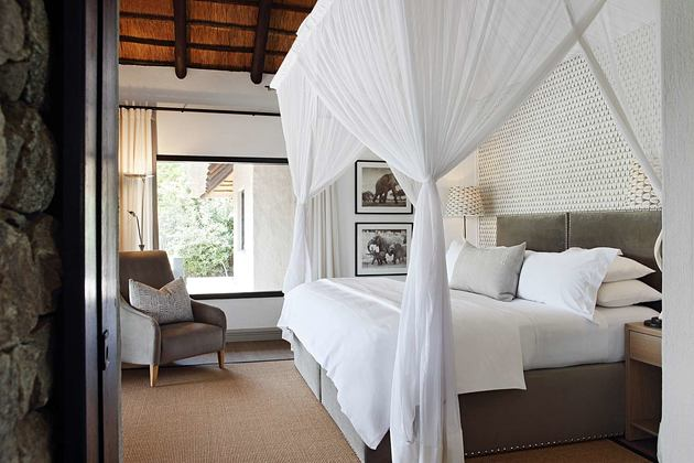 Bedroom at Londolozi South Africa