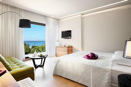 Bedroom at Marbella Corfu Greece