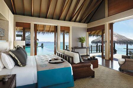 Bedroom at Shangri la Villingili Maldives
