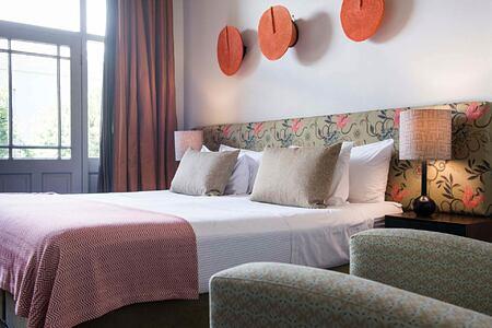 Bedroom at Welgelegen Guesthouse South Africa