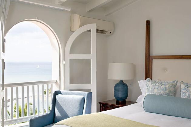 Bedroom at Windjammer Landing St Lucia